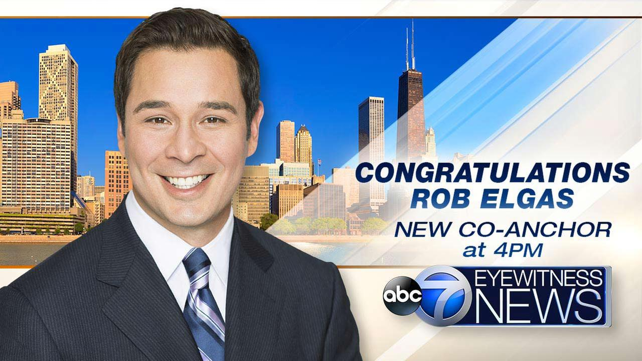 Rob Elgas promoted to anchor ABC 7 Chicago Eyewitness News at 4 pm