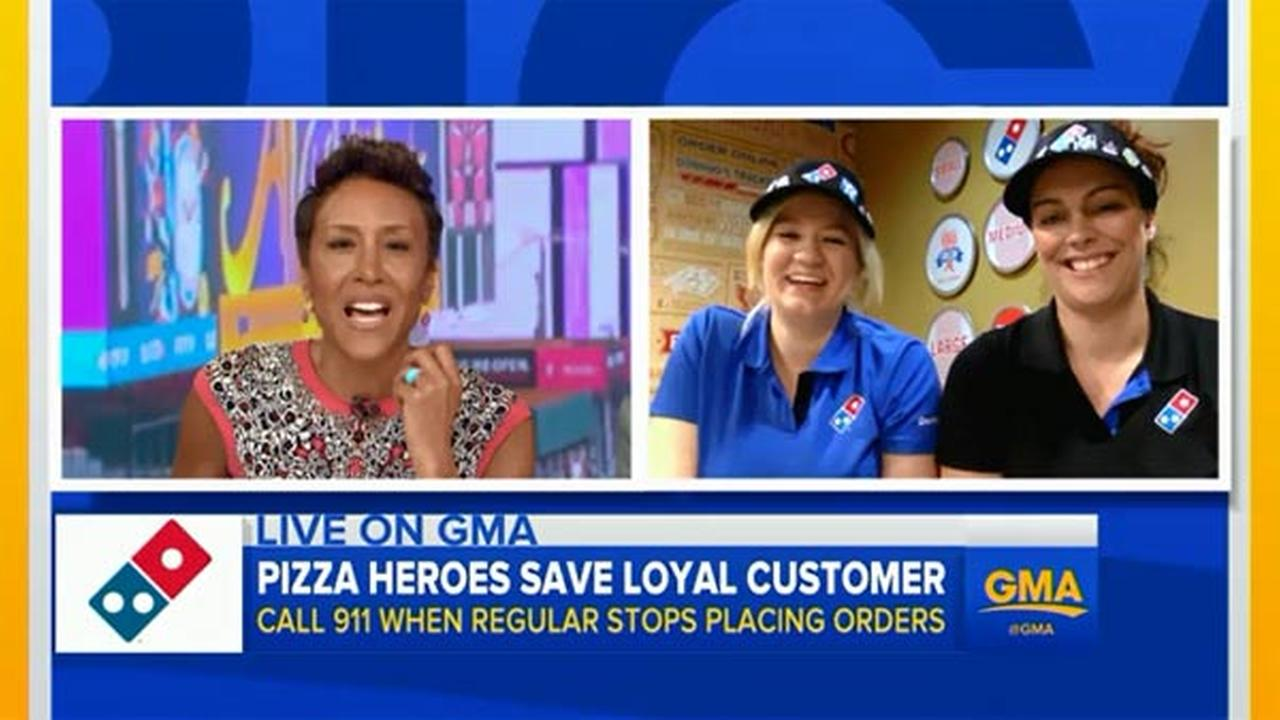 Dominos Workers Surprised With Trip to Las Vegas, Captain America Tickets After Helping to Save Customers Life
