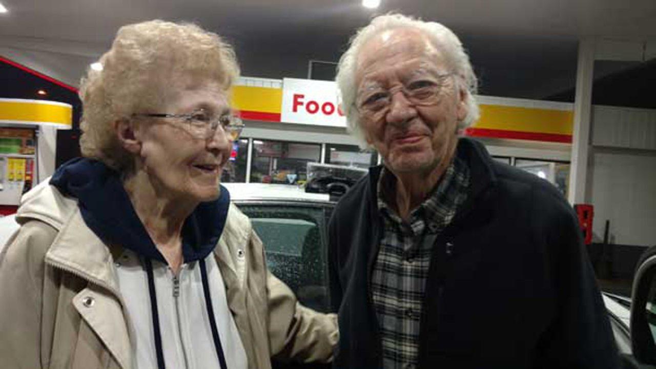 Albert Savegnago and his wife.