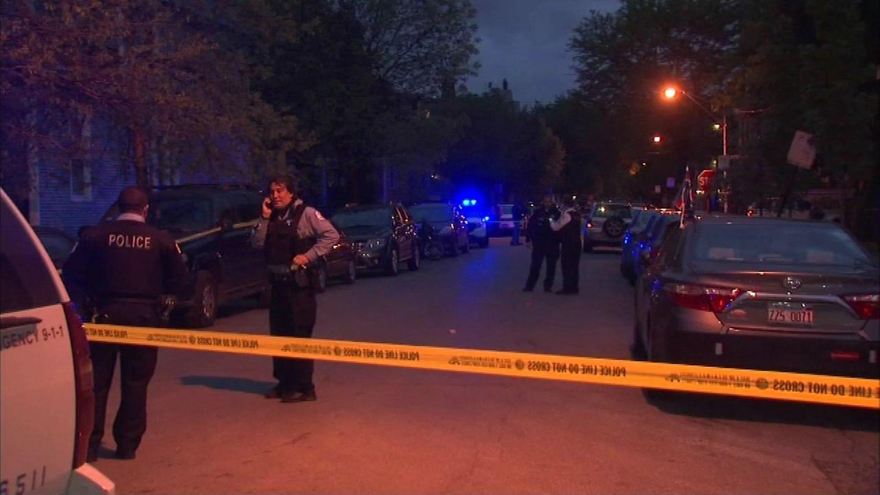 Police said two men were shot around 7:30 p.m. on May 14, 2016, in the 1600-block of North Artesian in the Humboldt Park neighborhood.