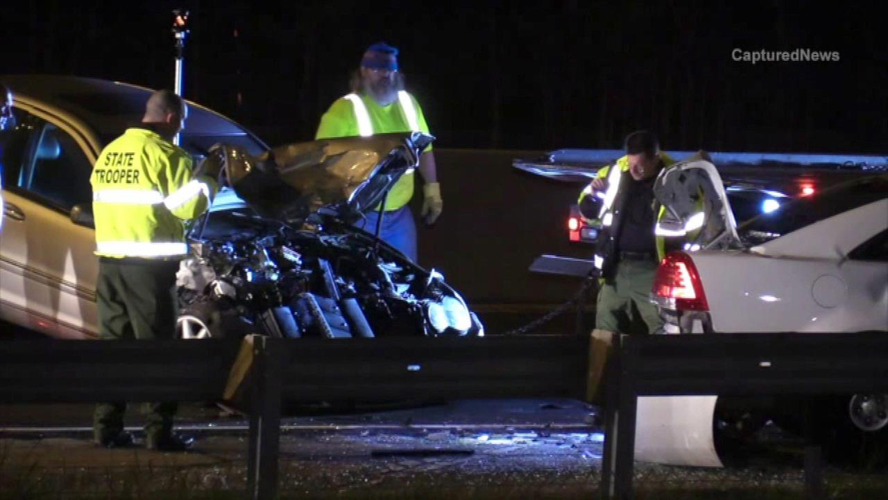 State trooper struck by alleged DUI driver on I-55 near Weber