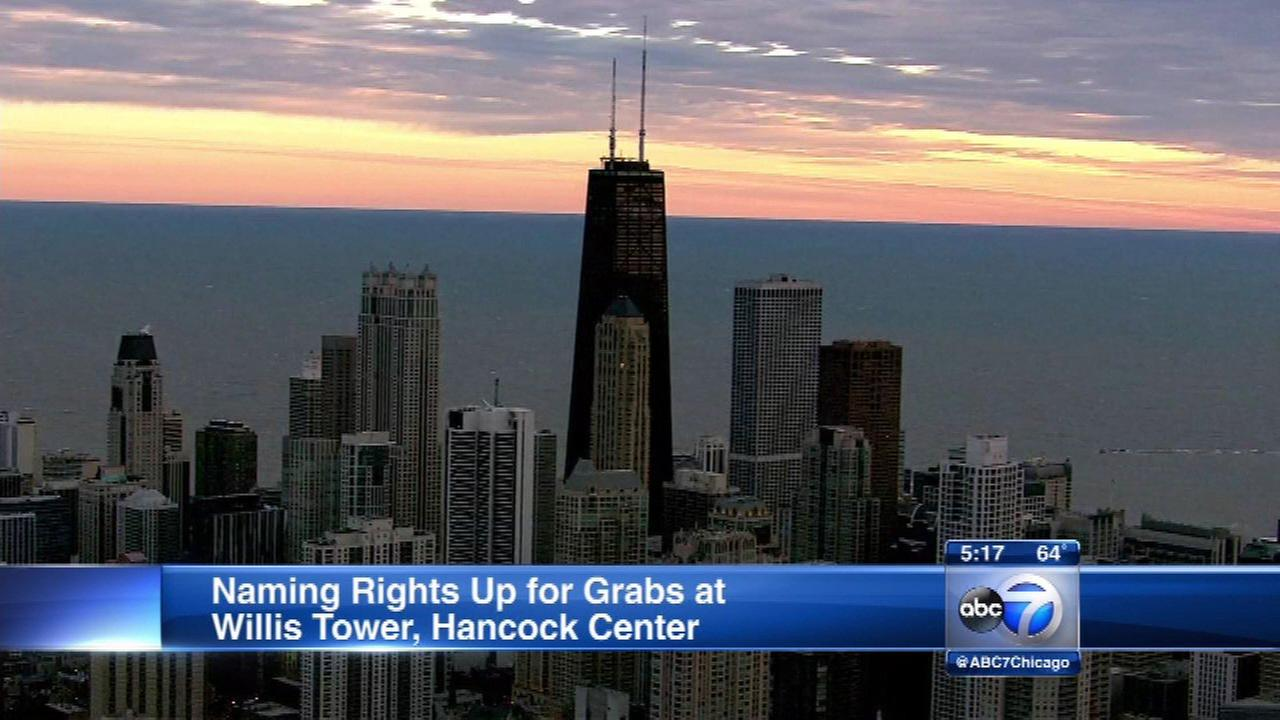 Hancock & Willis Towers could be renamed