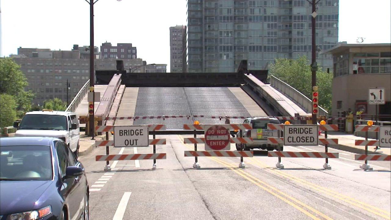 Harrison Bridge closed daily for repairs