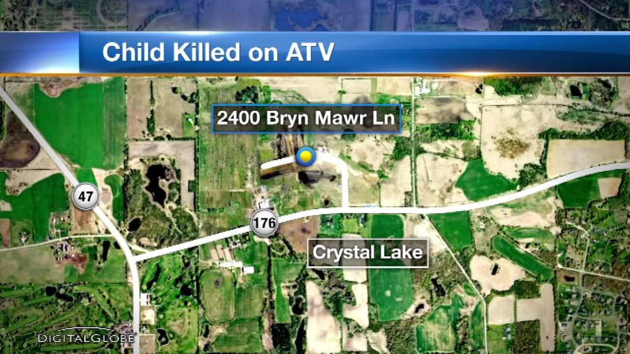 Teen killed in ATV crash in Crystal Lake