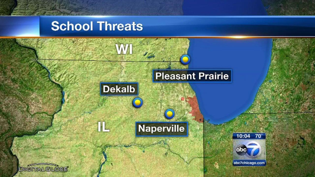 Investigators look for link among bomb threats at Chicago area schools