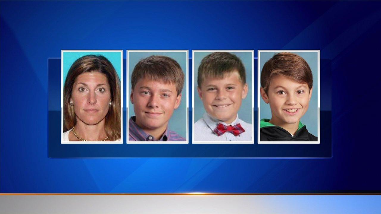 Michalene Megles and her three sons were last seen back on May 10.