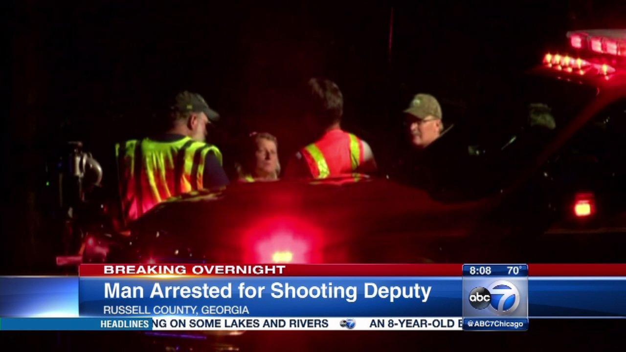 Georgia man accused of shooting deputy sheriff