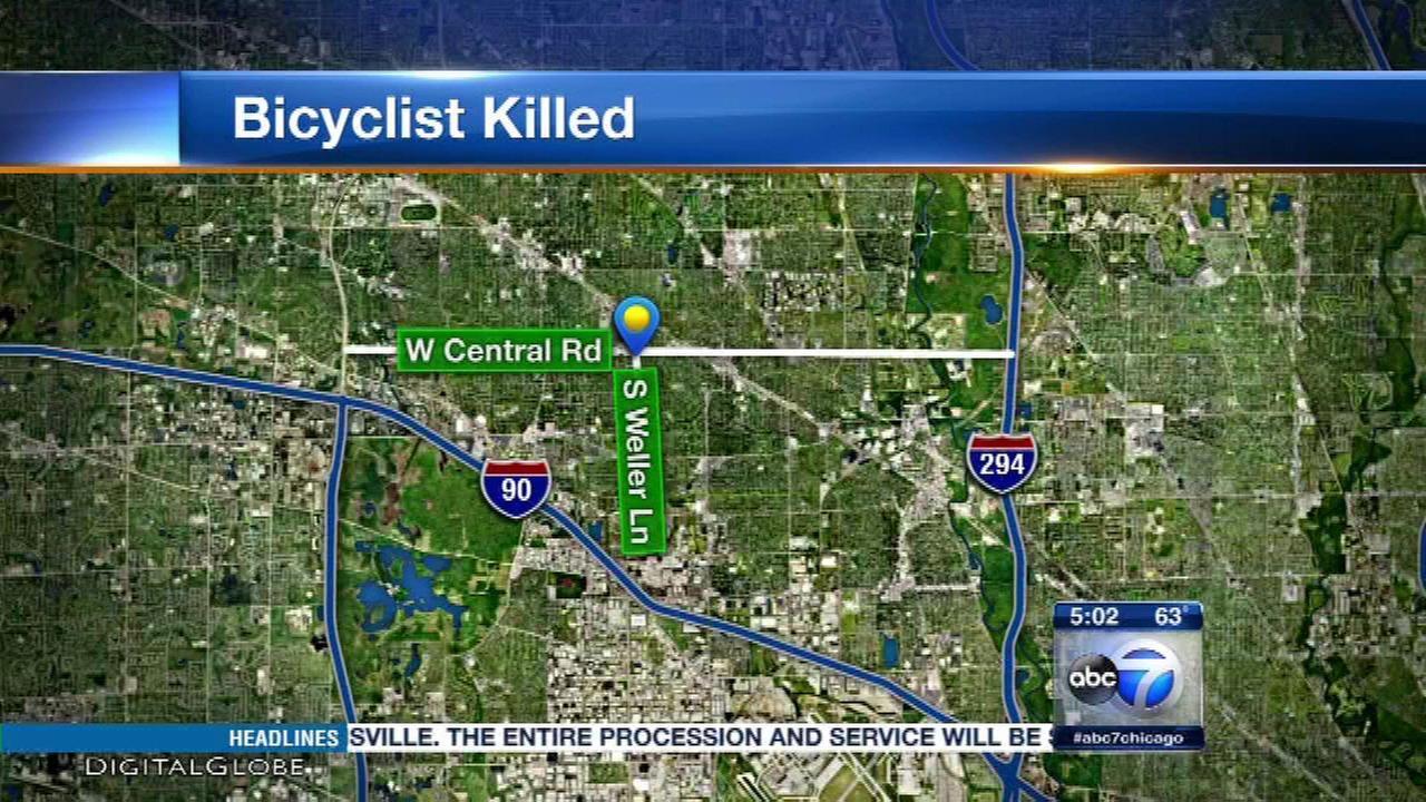 Bicyclist fatally struck in crosswalk in Mount Prospect