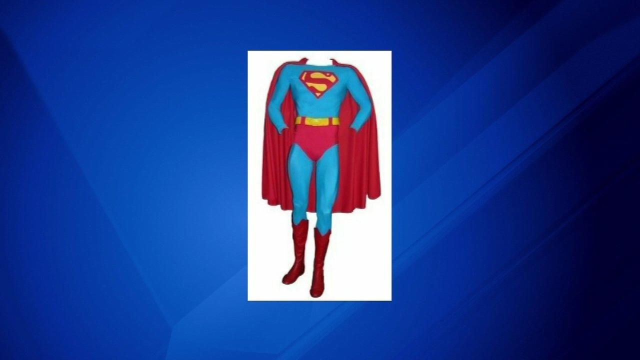 Christopher Reeves full Superman costume is going up for auction.