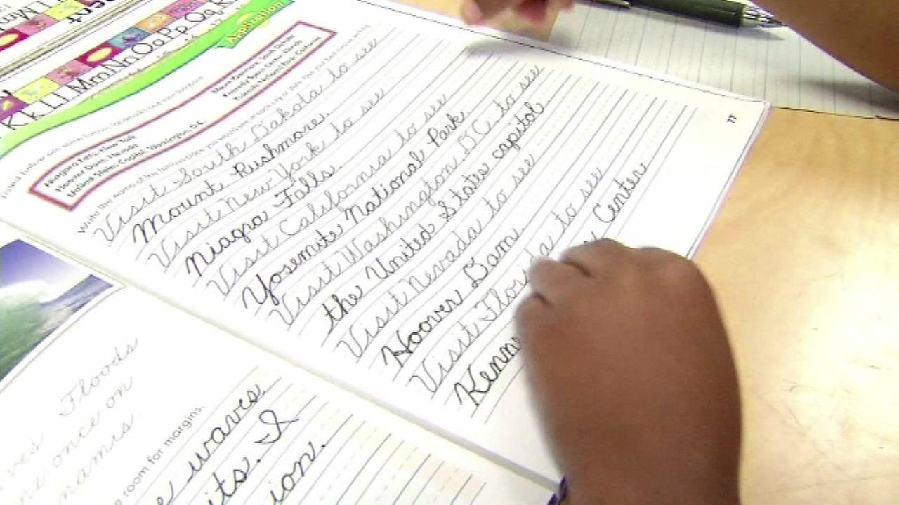 9-year-old wins national handwriting award