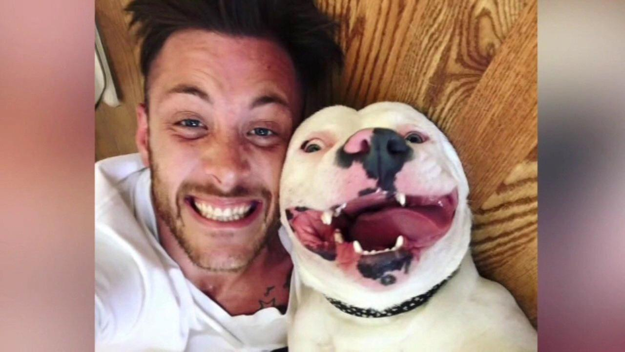 Police say smiling dog in selfie must leave community