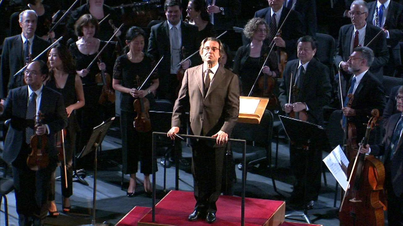 Riccardo Muti conducted the event at the Studebaker Theater on Michigan Avenue.