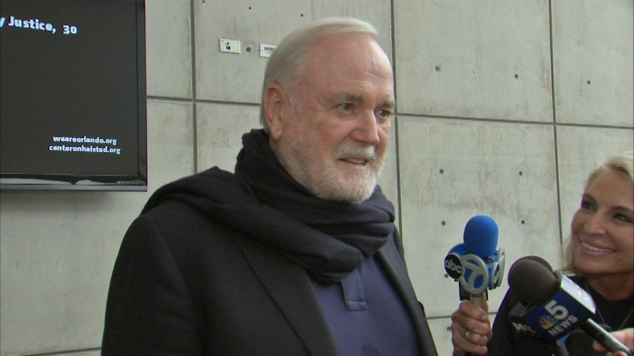 Actor John Cleese brings support to Chicago's LGBT community