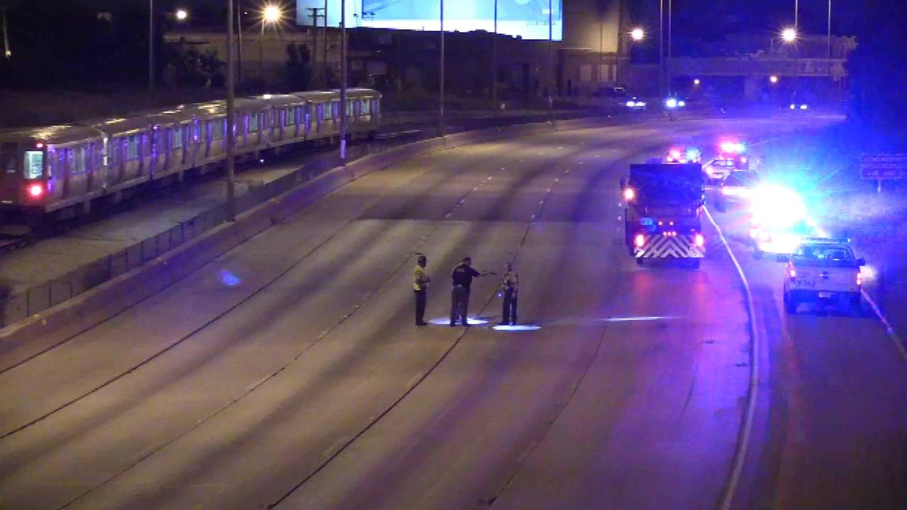 Shots fired at car on outbound Eisenhower near Kostner