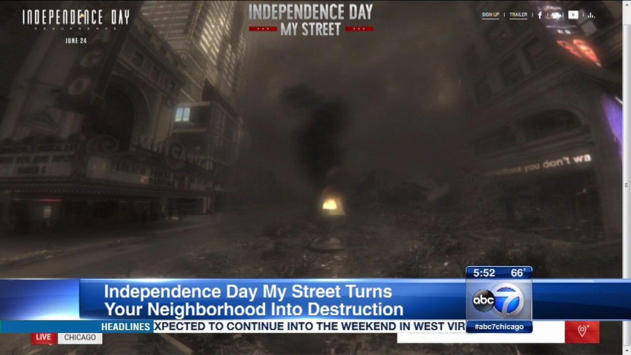 Independence Day attack simulation