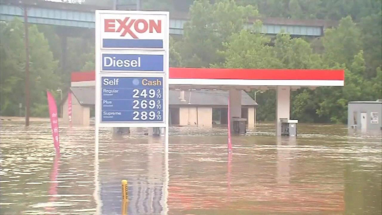 Flooding in West Virginia.
