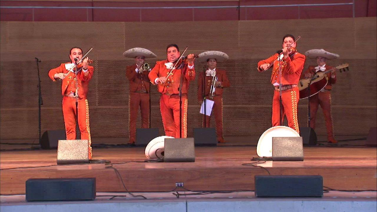 Mariachi Festival in Millennium Park