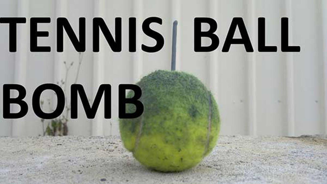 tennis ball bomb