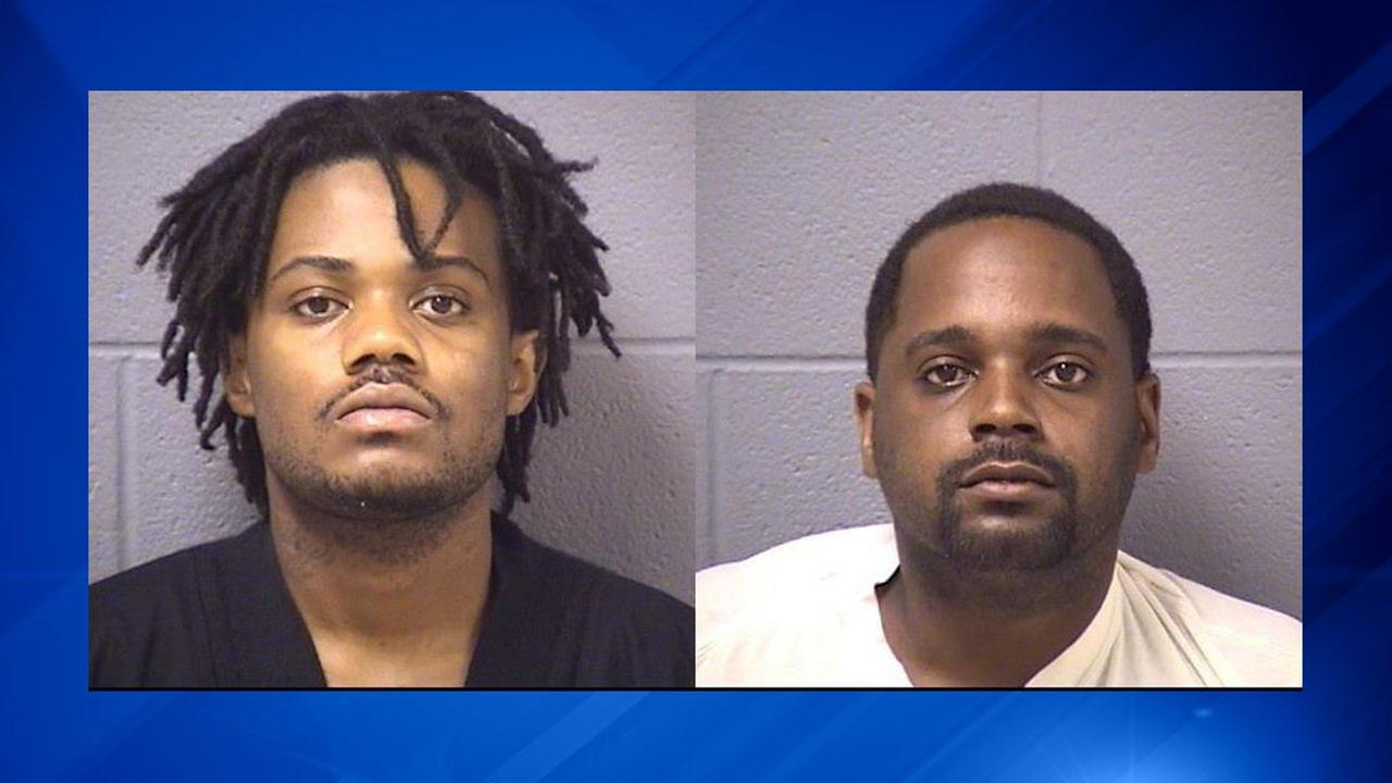 Isiah Stevenson and Michael Cokes have been charged with felony robbery.