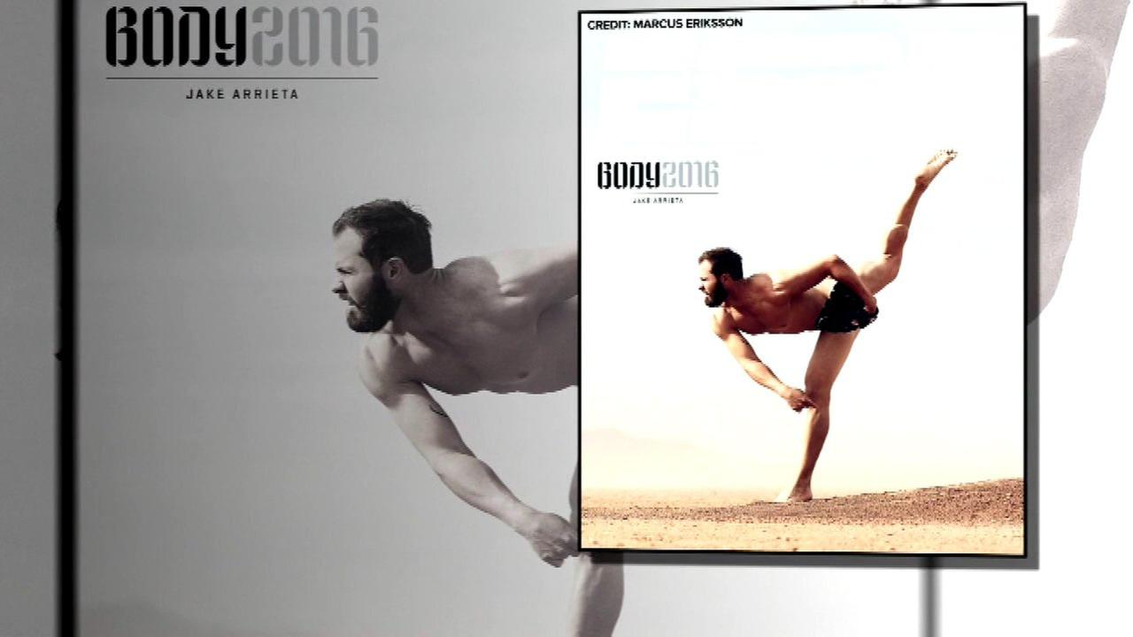Cubs pitcher Jake Arrieta is one of the star athletes who took it all off for ESPN The Magazines red-hot Body Issue.