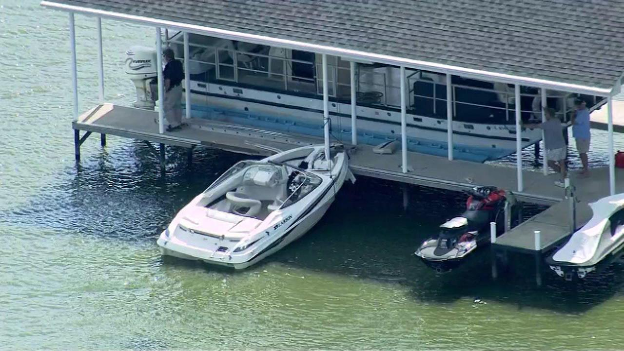 One person was injured in a boating accident on the Fox River in the far north suburbs Friday afternoon.