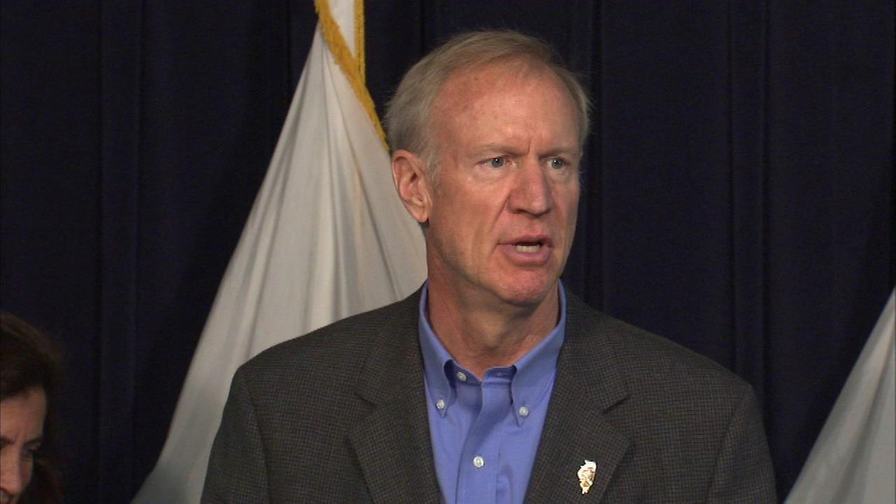 Undated photo of Governor Bruce Rauner.
