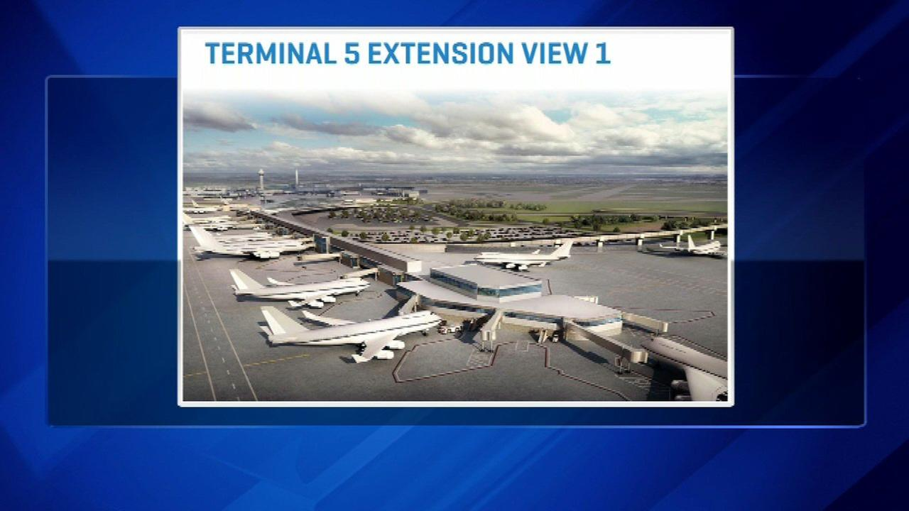 Chicago O'Hare airport plans include more gates, amenities