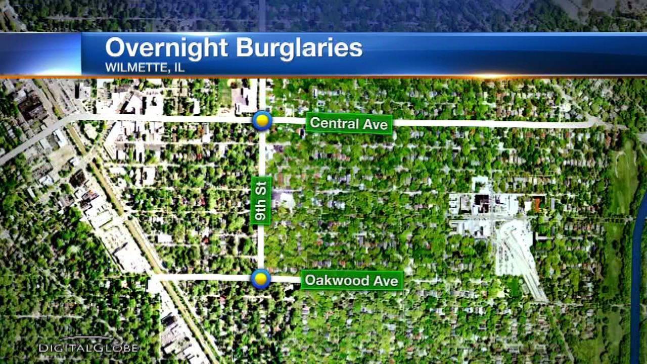 Police warn Wilmette residents of home burglaries