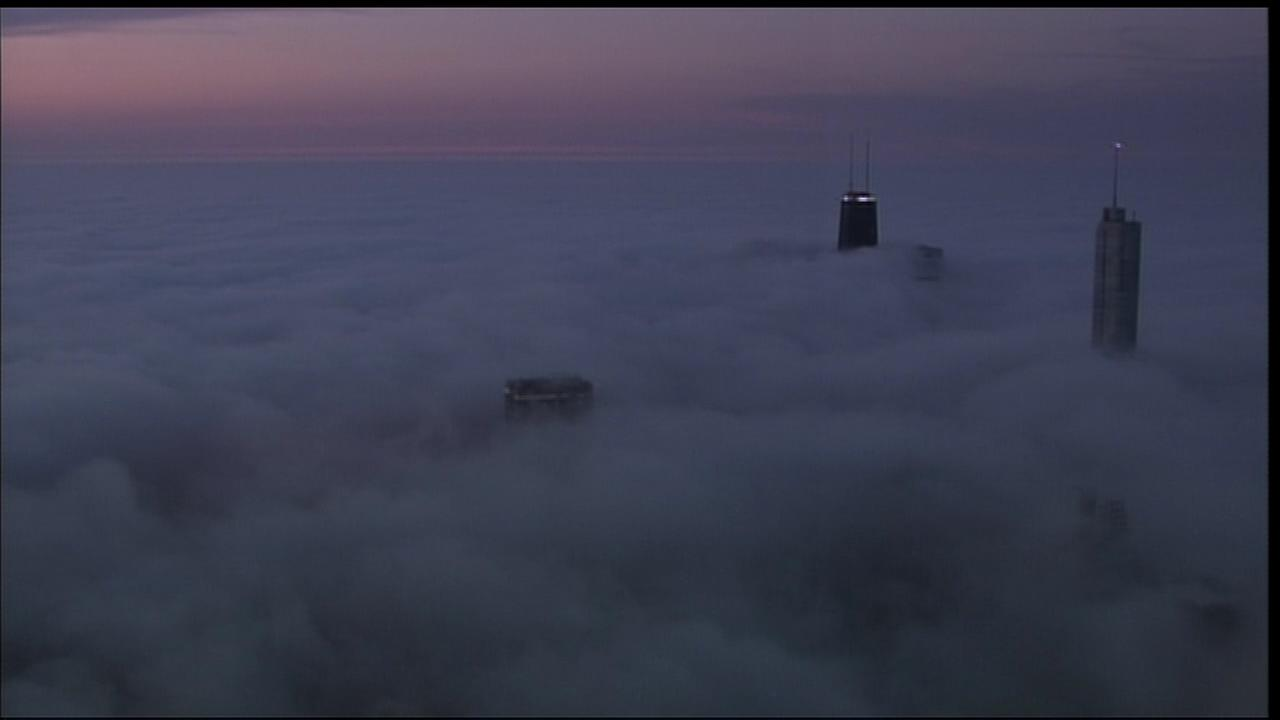 Dense fog advisory in effect for Chicago