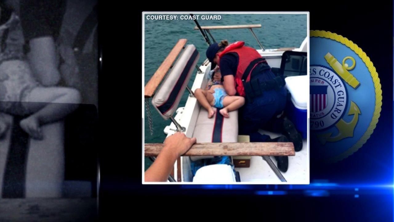2-year-old rescued from Lake Michigan by Coast Guard