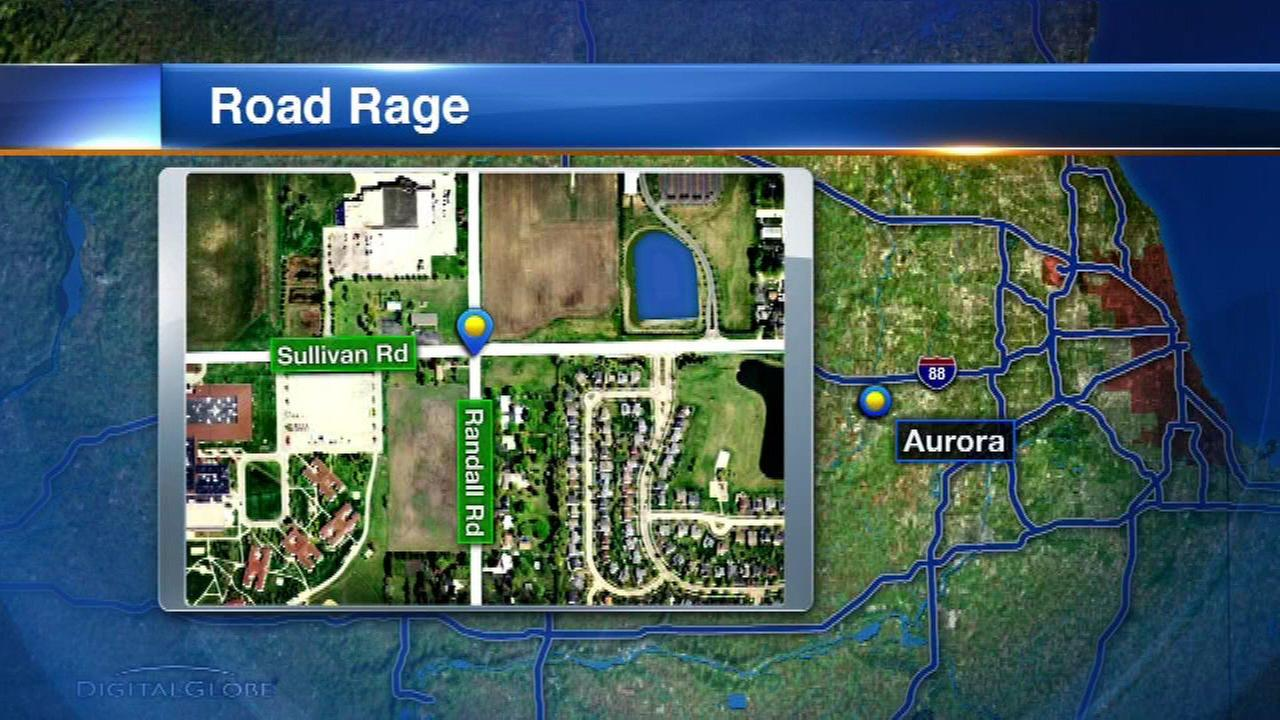 Woman reports she was punched in face in Aurora road rage incident