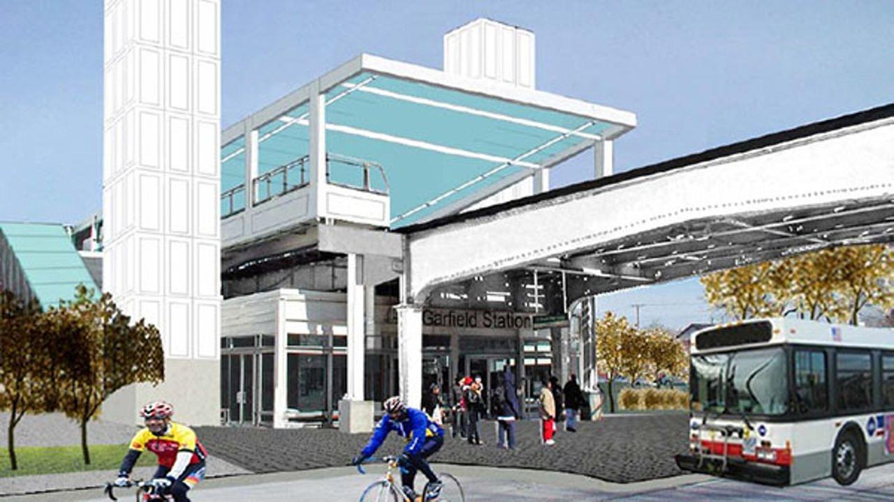 CTA Garfield station getting upgrade