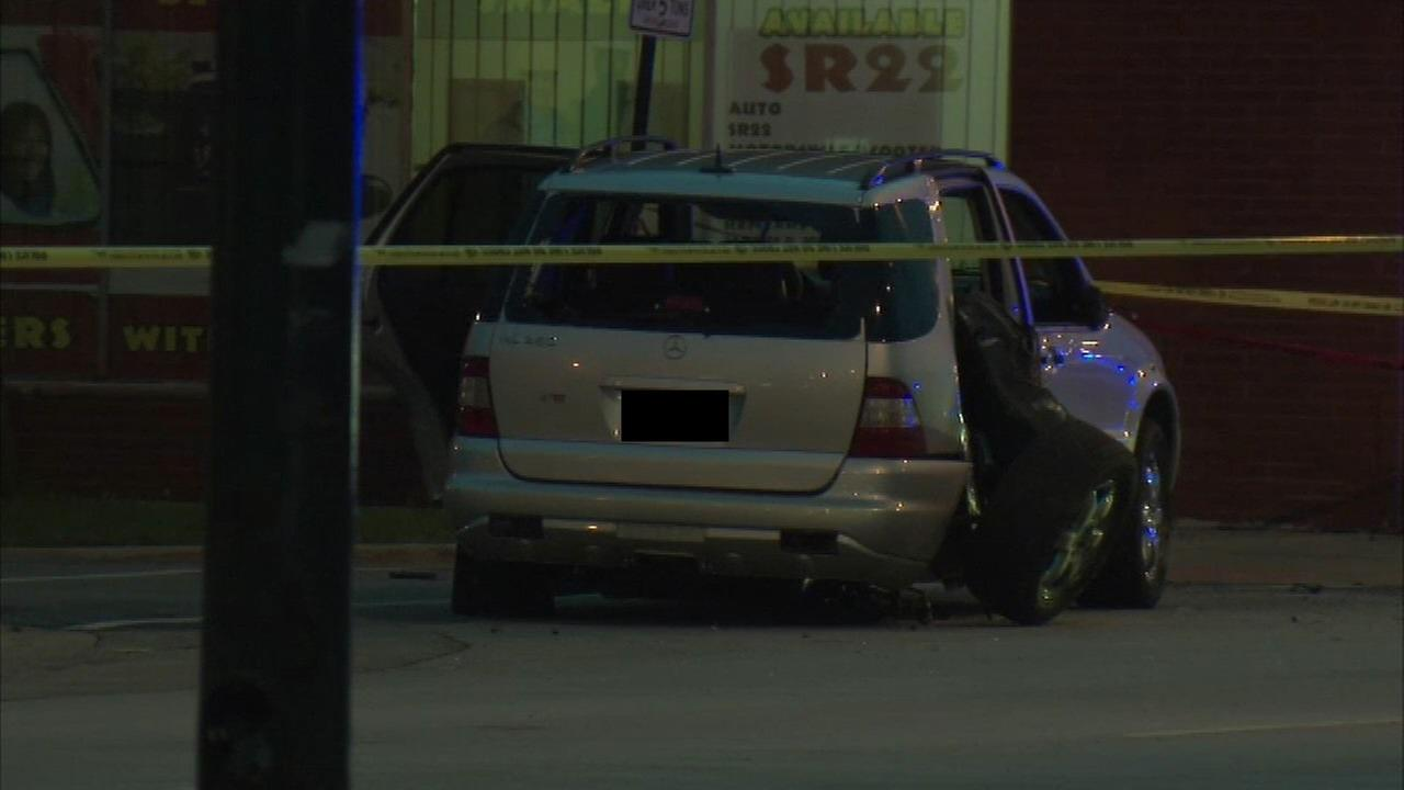 A man was shot to death inside an SUV in the Ashburn neighborhood.