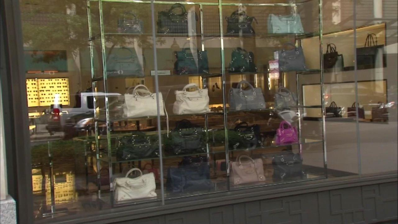 Chicago police have issued an alert about thieves targeting stores that sell high-end purses.