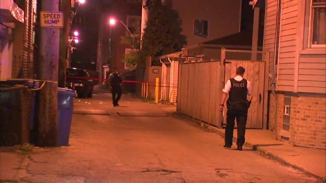 Teen shot in Logan Square, police say