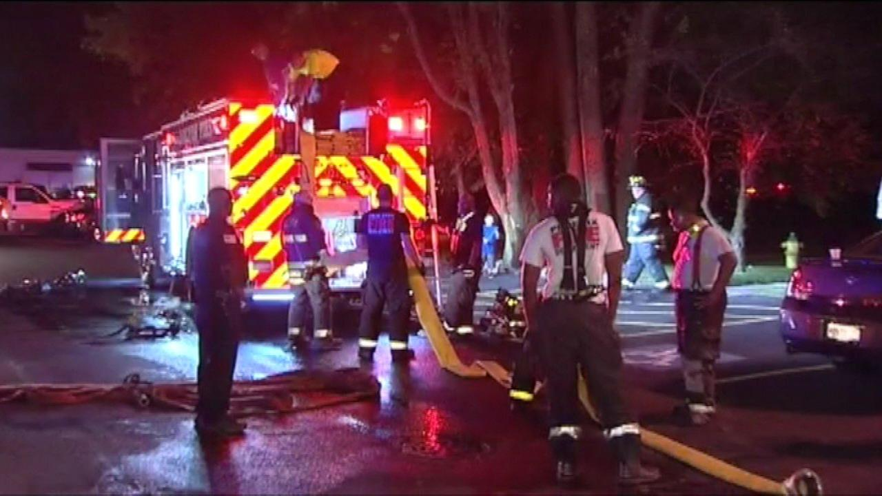 Several rescued from Dolton fire