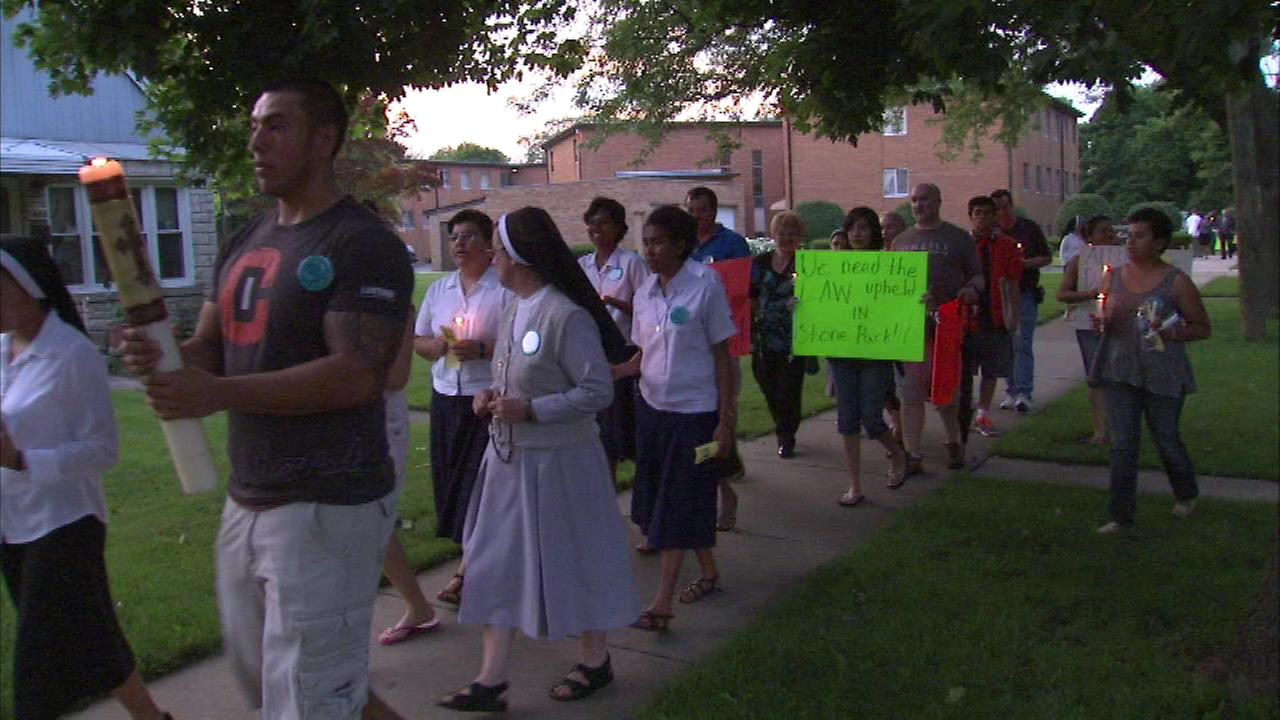 Nuns protest Stone Park strip club