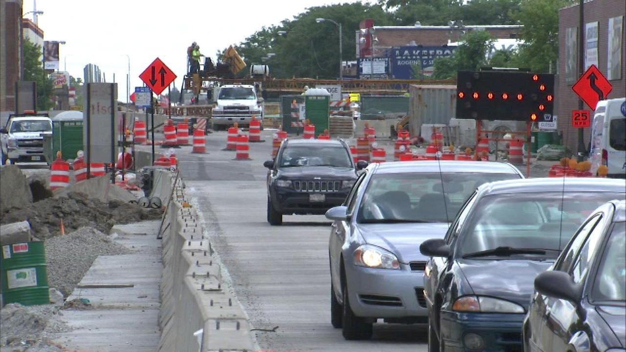 Lane closures planned for Western Avenue viaduct project