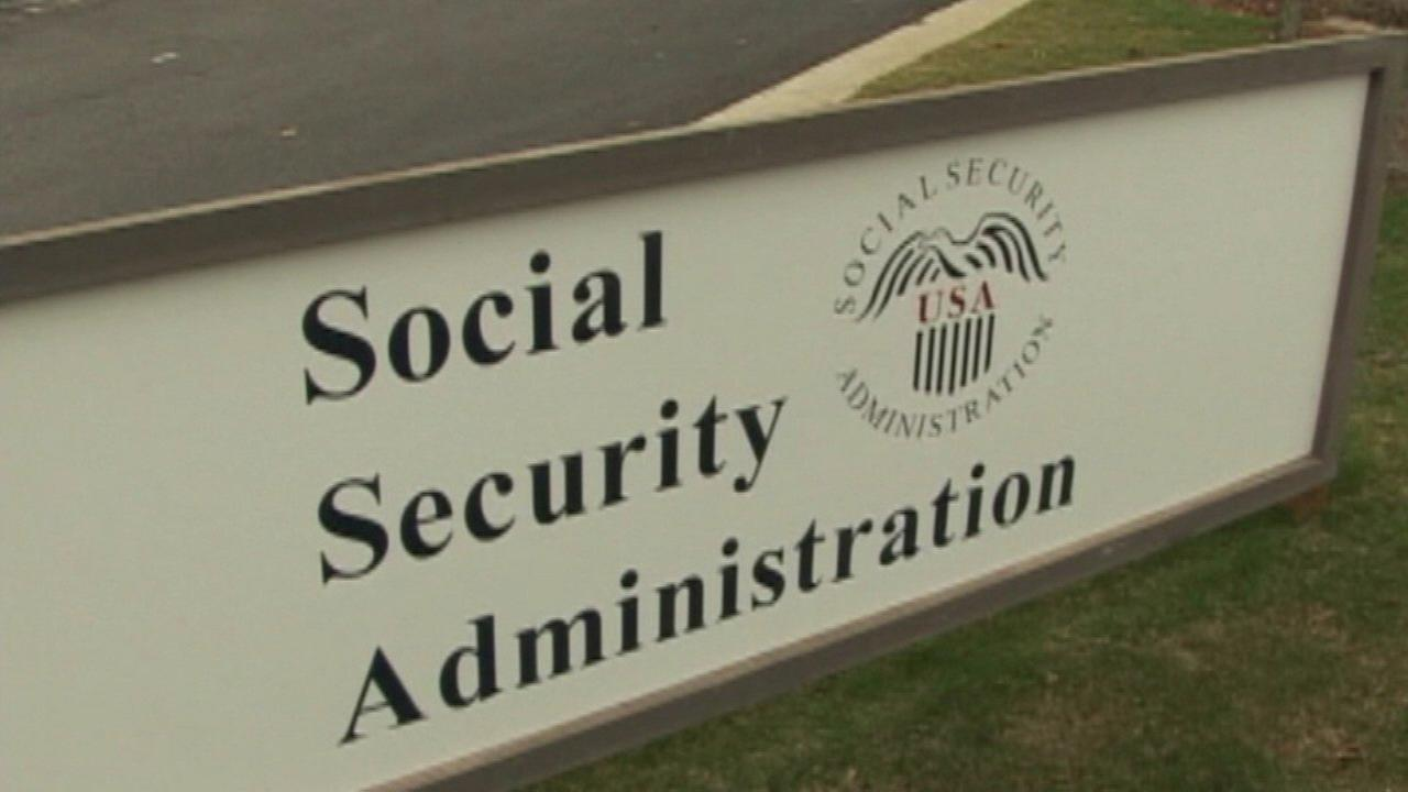 A Social Security Administration building.
