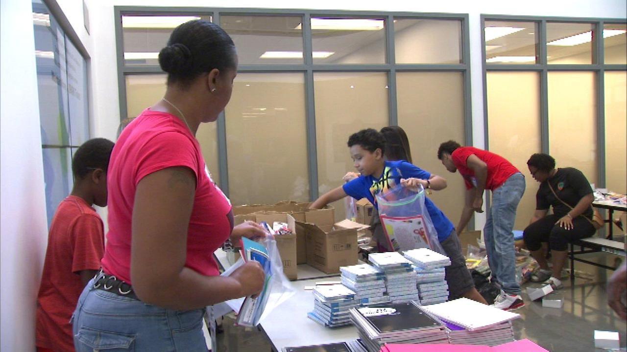Black McDonald's Operators Association assembles school supply kits