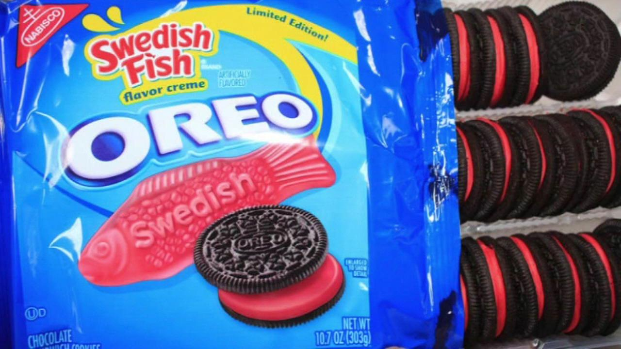 Swedish Fish Oreos hit shelves