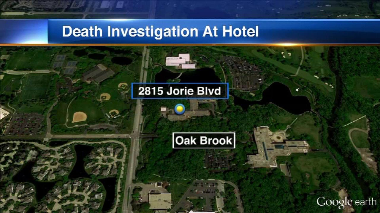 Police investigate death of man found inside Oak Brook hotel