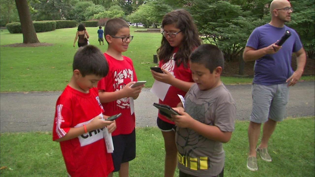 Officials host Pokemon Go event in Berwyn
