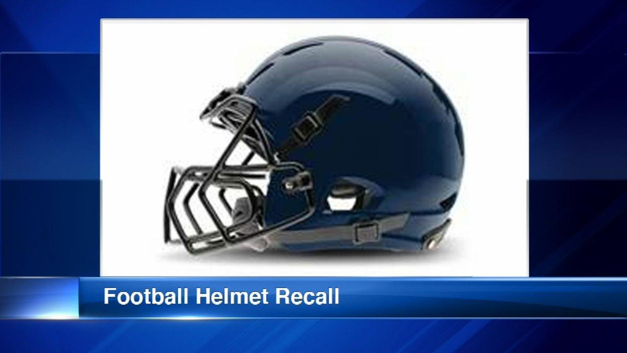 Xenith Epic Varsity, X2 Varsity, X2E Varsity helmets have been recalled.