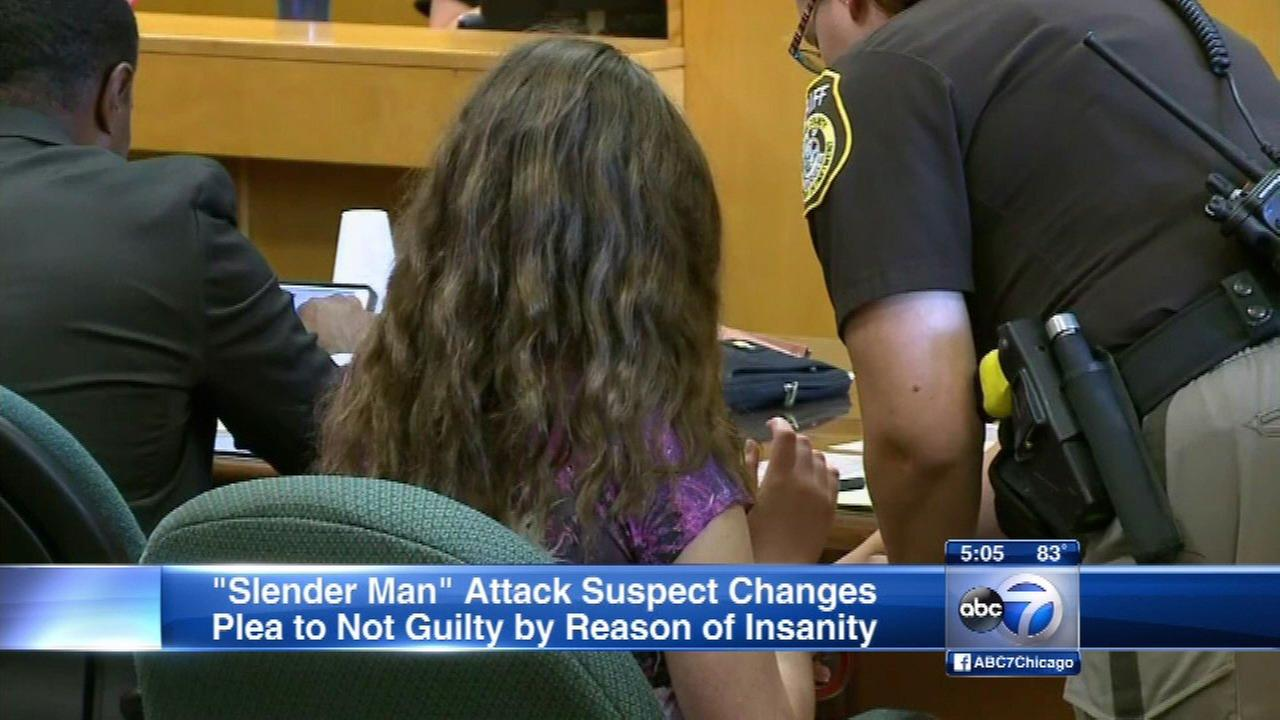 Wisconsin girl pleads mental illness in Slender Man attack
