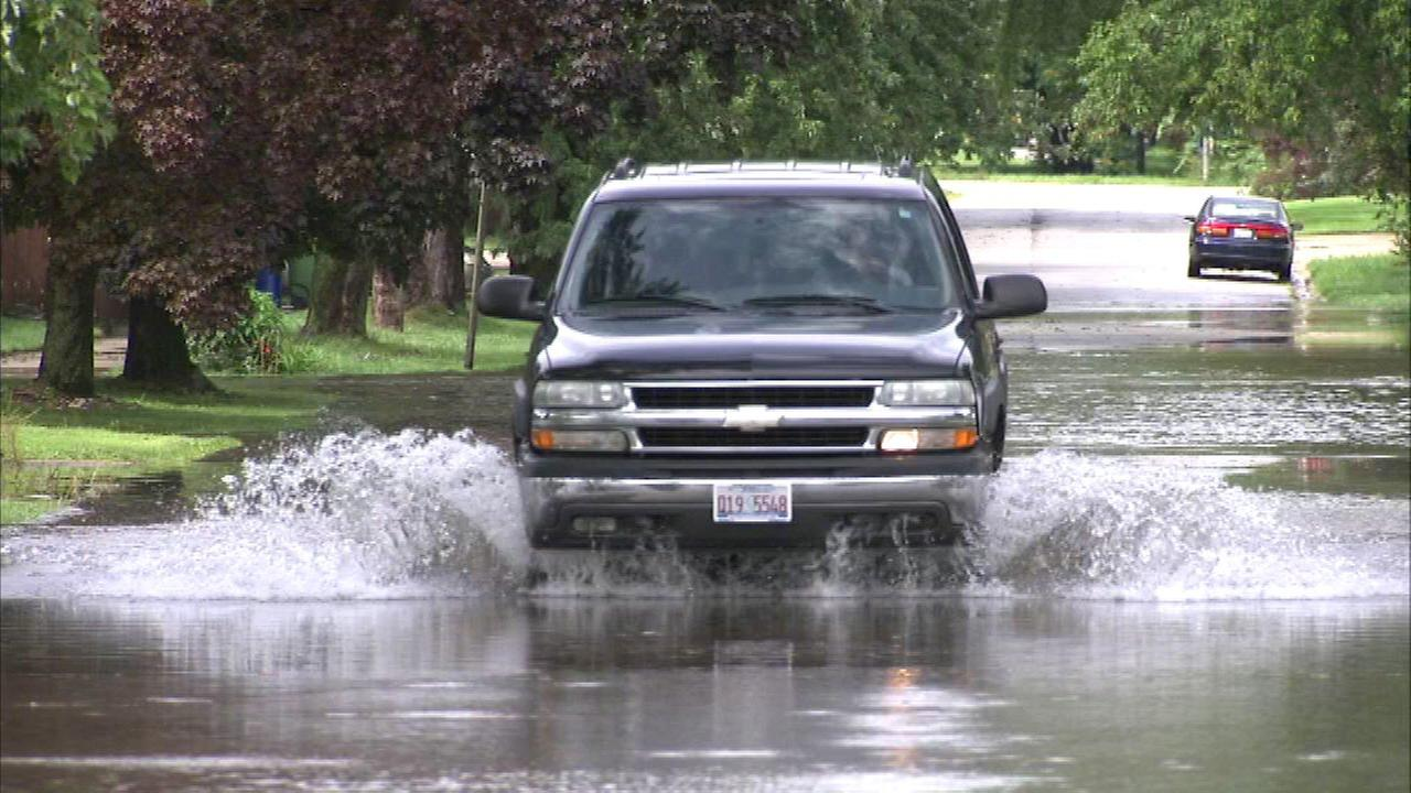 Chicago Weather: Dolton flooding