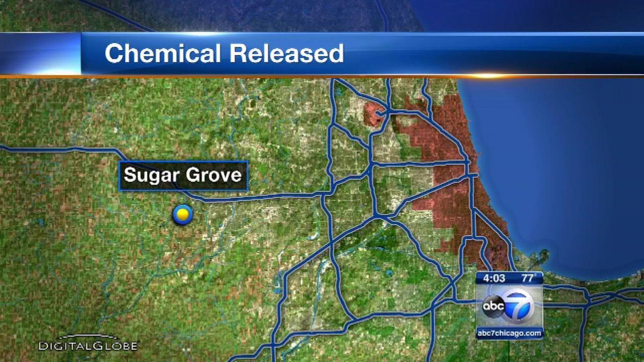 14 hospitalized after Sugar Grove chemical leak