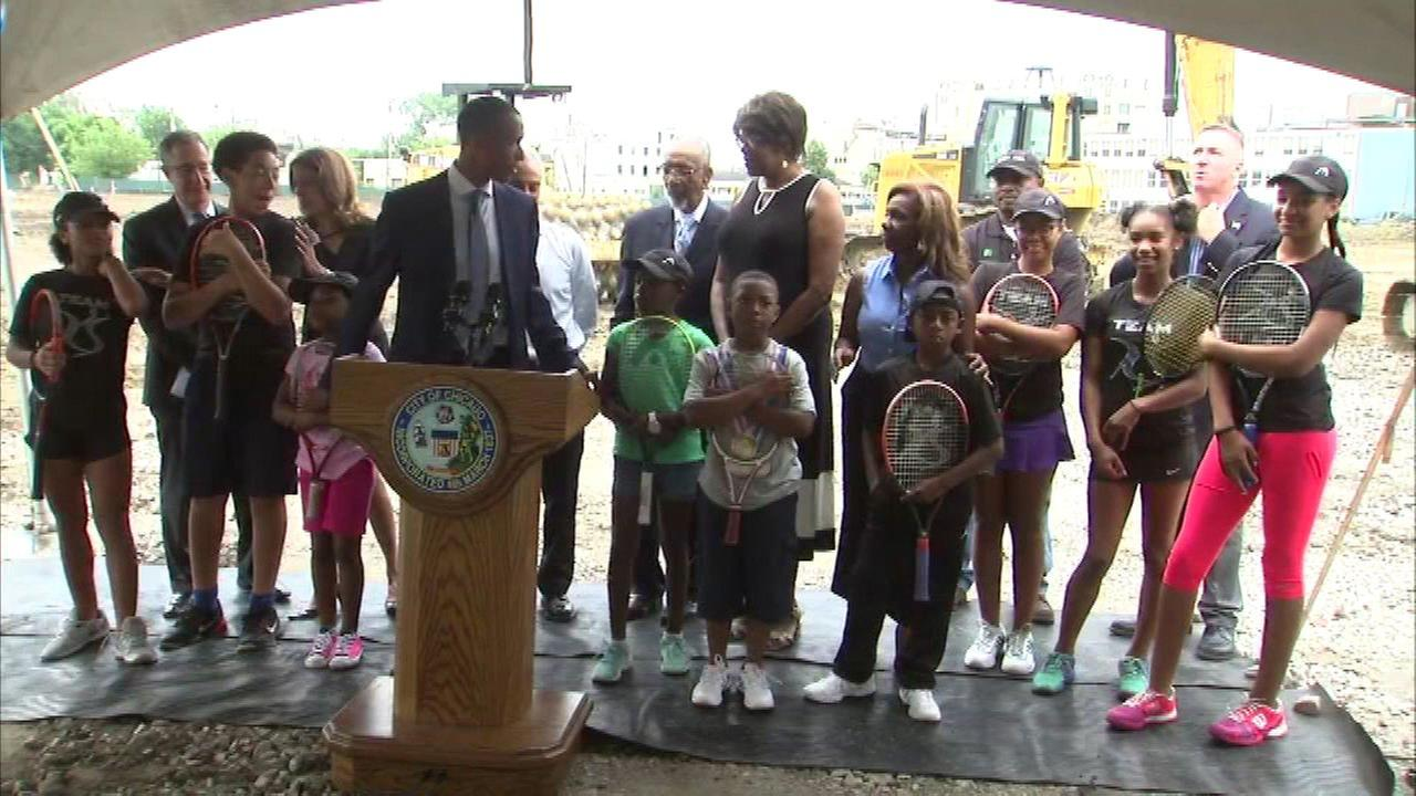 New tennis center to serve South Side youth