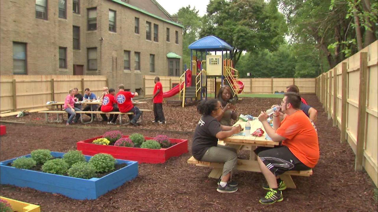 Clara's House homeless shelter gets improvements
