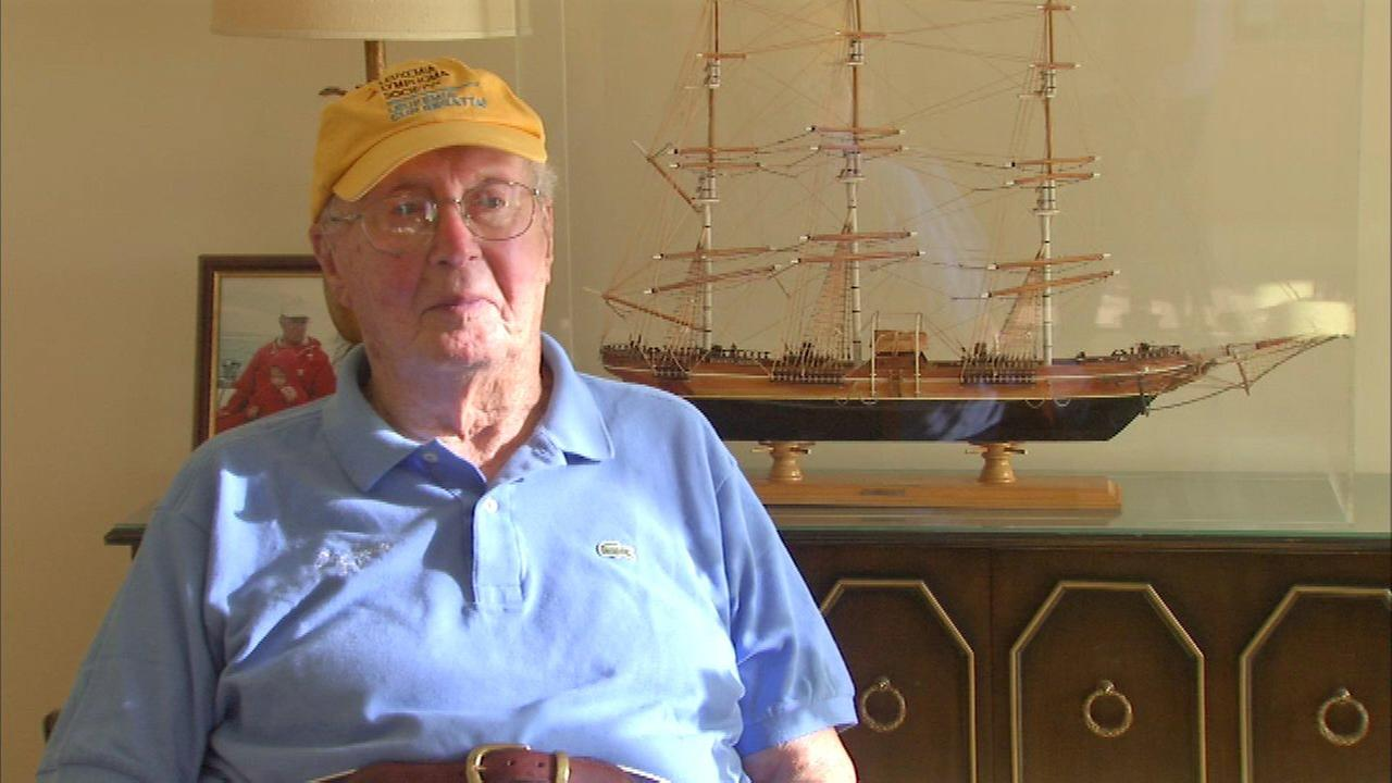99-year-old will be skipper in Leukemia Cup regatta